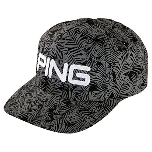 PING 2017 HAT PALM 164 BLK/GRY-33411-01