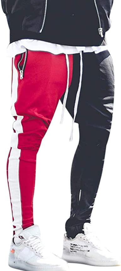 Logobeing Pantalones de Hombre Casuales Chino Deporte Joggers ...