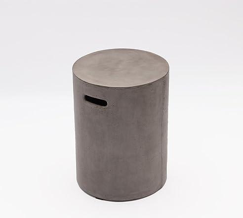 Amazon.de: Betonmöbel Beistelltisch Betonhocker 35 x 46 cm mit ...