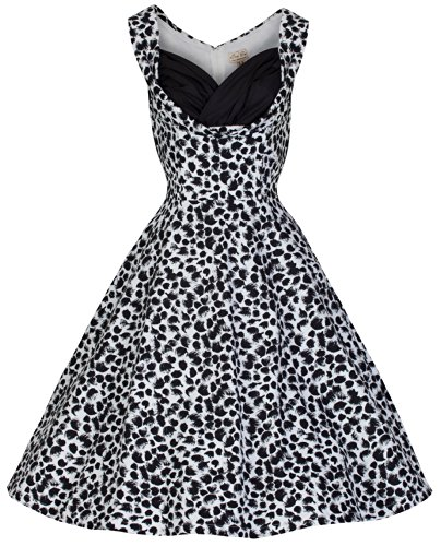Lindy-Bop-Ophelia-New-Chic-Vintage-1950s-Monochrome-Party-SwingJive-Dress