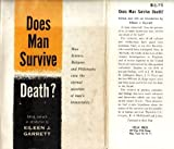 img - for Does man survive death? book / textbook / text book