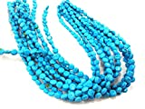 A+ 8mm Natural Round Roundel Disc Coin Loose Beads Turquoise Gemstone Strand 16""