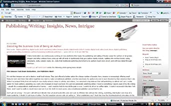 Publishing/Writing: Insights, News, Intrigue