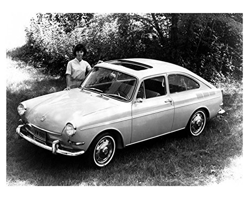 1966 Volkswagen Fastback 1600 Automobile Photo Poster from AutoLit