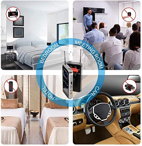 Hidden Camera Detector & RF Detector, Bug Detector, Anti Spy Detector, Camera Finder for GPS Tracking GSM Listening Device Finder