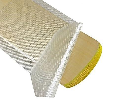 Batte de Cricket Protection Anti Rayures Uni Feuille Transparent et en fibre de verre Make or Break