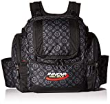 Innova Golf Disc Super Hero Backpack Bag, Black Pattern