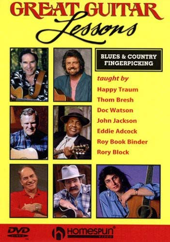 Great Guitar Lessons: Blues & Country Fingerpicking