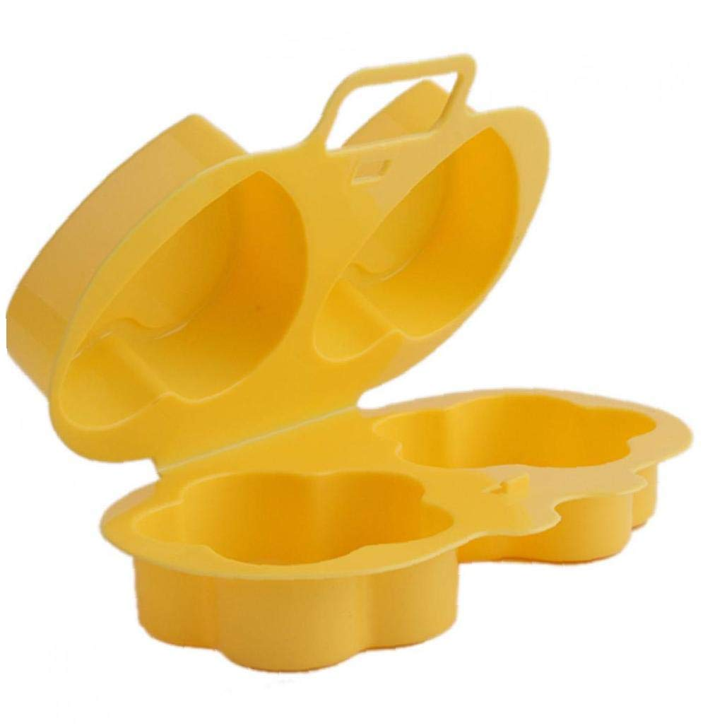 AMOYER Microondas Furtivo del Huevo Escalfado Huevo Cocina Lavaplatos Huevo Segura Vapor Cocina Gadget De La Categor/ía Alimenticia del Huevo Escalfado Fabricante