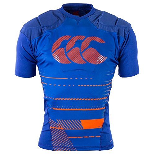 Canterbury 2017 Mens Rugby VapoDri Raze Protection Vest Body Armour Top Sodalite Blue Large