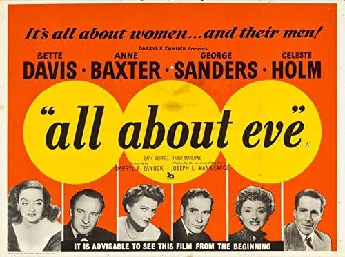 All About Eve (1950) Original Movie British Quad Poster (30x40 ...