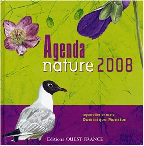Téléchargement de livres gratuits sur mon Kindle Agenda Nature 2008 by Dominique Mansion in French MOBI