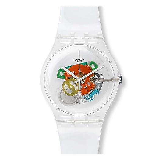 Swatch SUOK111 - Reloj para hombres, correa de plástico: Amazon.es: Relojes