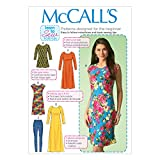 McCall's Patterns M7122 Misses' Tunic/Dresses & Leggings, Size Y (XSM-SML-MED)