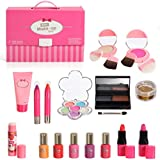 IQ Toys Complete Girls Washable Makeup Palette Set in Carry Case with Mirror