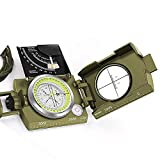 K4074 Multifunction Military Lensatic Sighting Compass with Carrying Bag