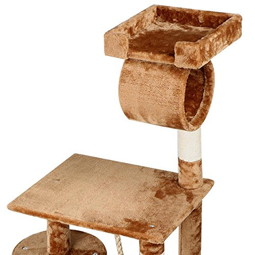 chic cat furniture. World Pride Cat Tree Furniture With Hammock And Platform 62 In. High Chic