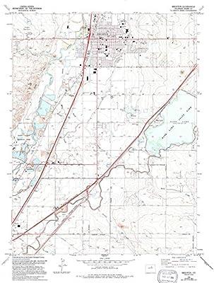 Brighton Colorado Map.Amazon Com Yellowmaps Brighton Co Topo Map 1 24000 Scale 7 5 X