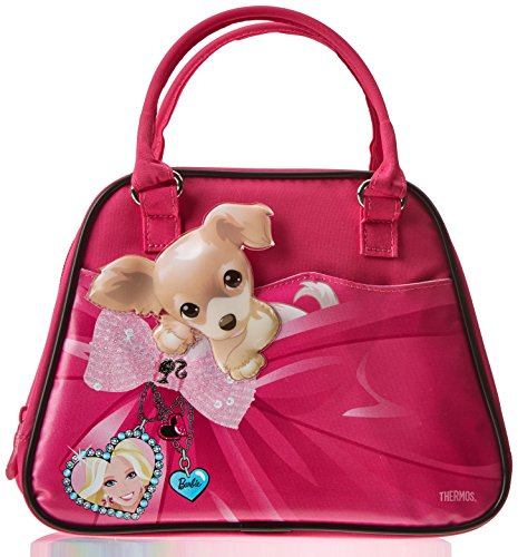 Thermos Barbie & Chihuahua Dog Soft Lunch Box Insulated Lunch Bag Lunchbox