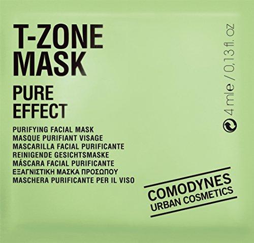 COMODYNES T Zone Mask femme/women,Purifying facial Mask, 5er Pack (5 x 0.004 kg)