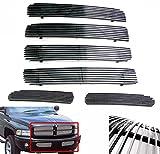 99 dodge ram sport grill - ZMAUTOPARTS Dodge Ram 1500 2500 3500 Sport Upper+Bumper Billet Grille Grill Combo
