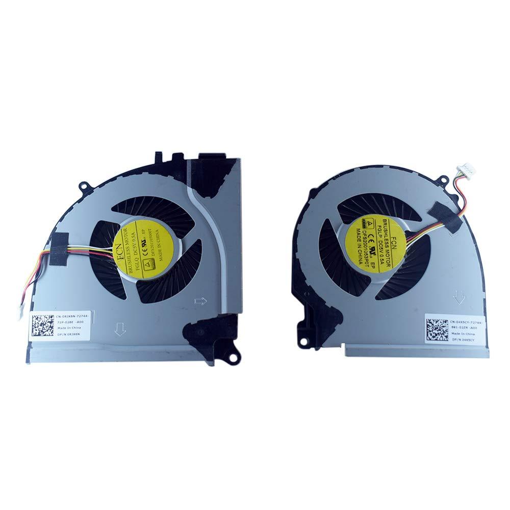 Cooler Cpu+gpu Para 0rjx6n 04x5cy Para Dell Inspiron 15-7000 15-7557 15-7559 Inspiron 5576 5577 7557 7559 Series Dfs2011