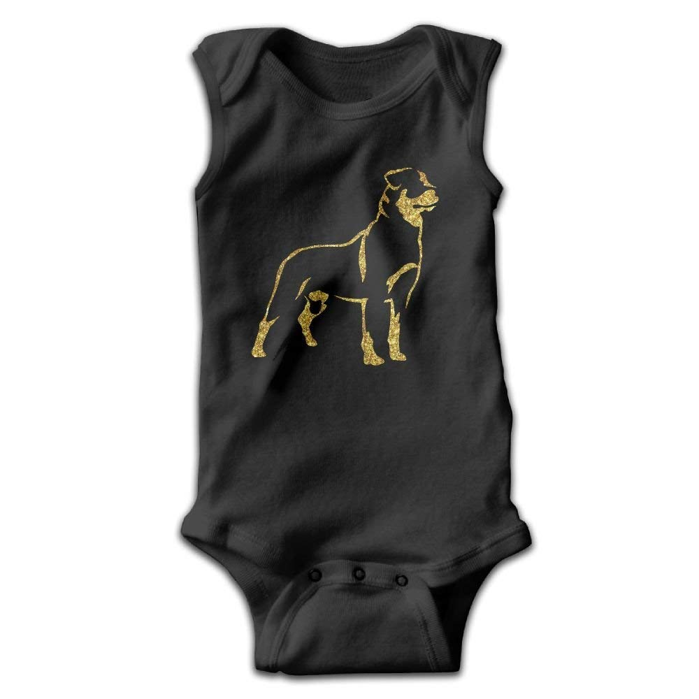 Rottweiler Rotty Rott Rottie Baby Bodysuit Cute Baby Onesies Rompers Bodysuit for Boys and Girls