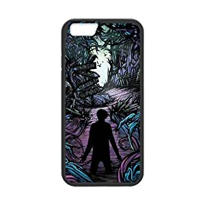 DAFUWENG(TM) Diy Customized Phone Case A Day To Remember(ADTR) Pattern for iphone 6 Plus (5.5 inch) Black