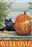 "Breeze Art ""Black Cat"" Welcome Banner For Sale"