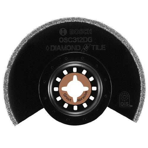 Bosch OSC312DG 3-1/2-Inch by 1/8-Inch Diamond Grit Segment Blade