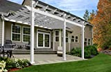 Valencia 12x16' Attached Vinyl Pergola Deal (Small Image)