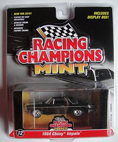RACING CHAMPIONS MINT DARK GREEN 1964 CHEVY IMPALA 2016 SERIES 12