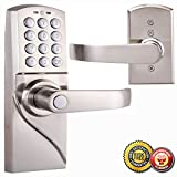 New Digital Electronic/Code Keyless Keypad Security Entry Door Lock Right Handle MTN Gearsmith