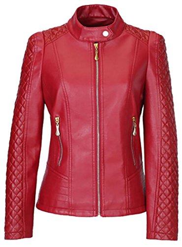 2x Leather Coat - 4