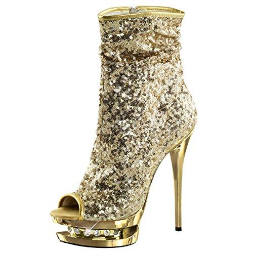 Gold High Pailletten High Gold High Pailletten Heels Heels Gold High Gold Pailletten Heels Heels Pailletten vCqx7wp81