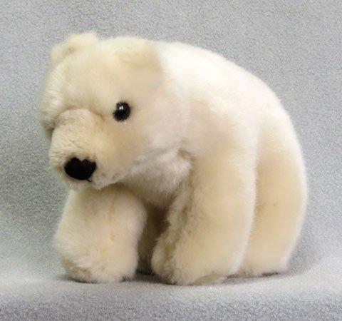 Polar Bear Cub Stuffed Animal 8 inches long - F3553 B221
