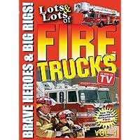 Lotes y montones de camiones de bomberos para niños, vol. 1