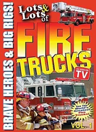 Amazon.com: Lots & Lots of Fire Trucks For Kids DVD Vol 1: Bryan The ...