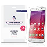 iLLumiShield - LG Volt Screen Protector Japanese Ultra Clear HD Film with Anti-Bubble and Anti-Fingerprint – High Quality (Invisible) LCD Shield – Lifetime Replacement Warranty – [3-Pack] OEM / Retail Packaging