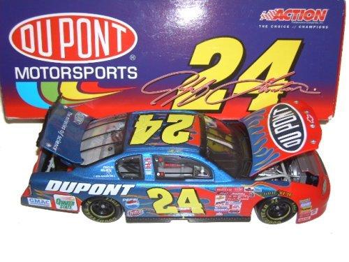 ACTION NASCAR DIECAST 2001 1/24 JEFF GORDON FLAMES #24
