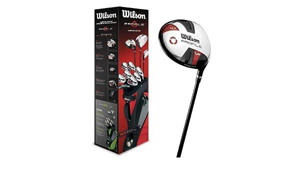 Wilson profile vf steel + 1 inch long para mano derecha para hombre: Amazon.es: Deportes y aire libre