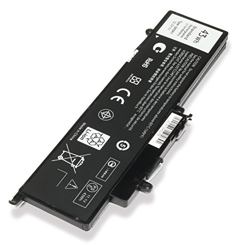 Easystyle 43Wh 11.1V New Replacement Laptop Notebook Battery For Dell Inspiron 3000 Series 11.6
