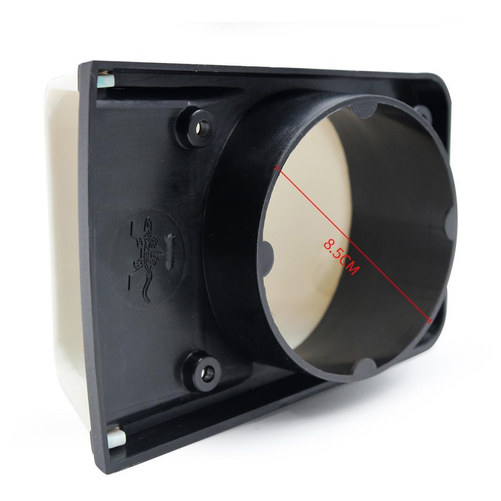 3 inch Plastic Cowl Vent Ventilator with Base for Marine Boat RV