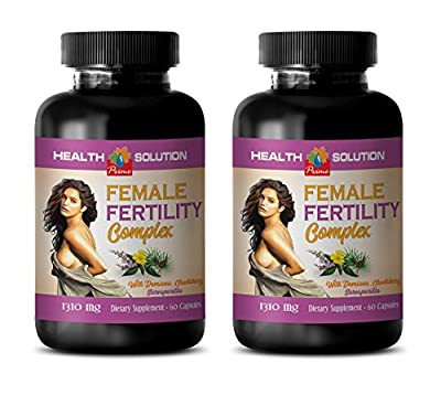 libido enhancer for women - FEMALE FERTILITY COMPLEX - damiana capsules - 2 Bottles 120 Capsules