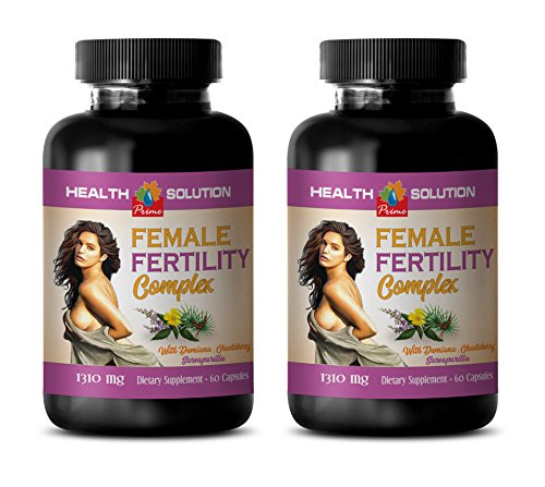 libido enhancer for women - FEMALE FERTILITY COMPLEX - damiana capsules - 2 Bottles 120 Capsules by Health Solution Prime
