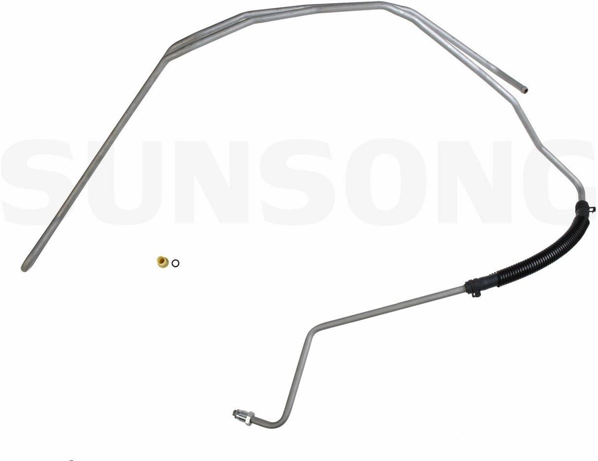 Sunsong 3402376 Power Steering Return Line Hose Assembly