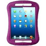 iXCC Shockproof Silicone Protective Case Cover for iPad Mini, Mini 2, Mini 3 and iPad Mini Retina - Purple