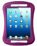 iXCC Shockproof Silicone Protective Case Cover for iPad Mini - Mini 2 - Mini 3 and iPad Mini Retina - Purple