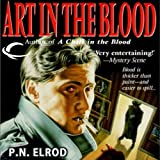 Front cover for the book Art in the Blood by P. N. Elrod