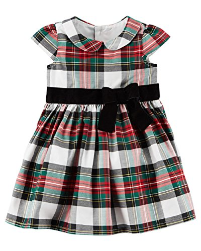 Baby Holiday Dresses (Carters Baby Girls Plaid Holiday Dress (Multi, 6)
